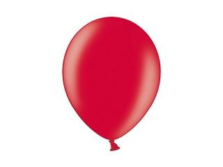 Svatební ozdoby a doplňky - Metalický balónek - červený