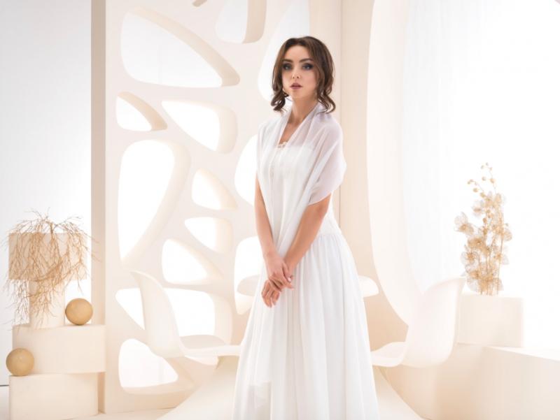 Doplňky pro nevěstu - Svatební šál