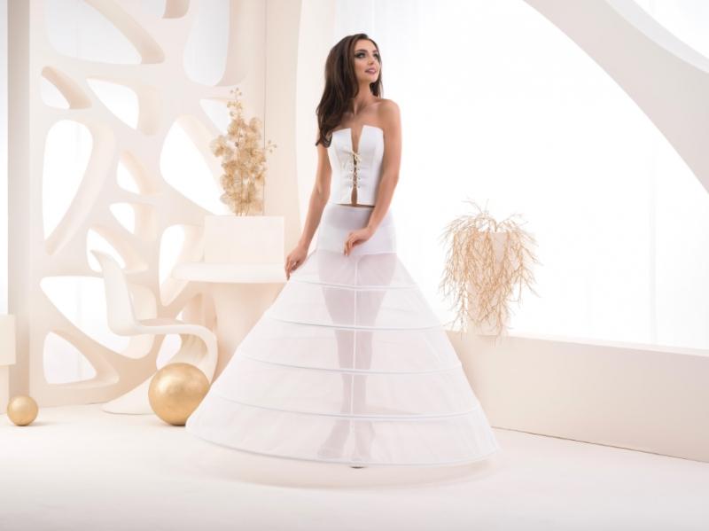 Doplňky pro nevěstu - Pětikruhová spodnice