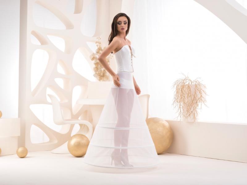 Doplňky pro nevěstu - Spodnice se třemi kruhy