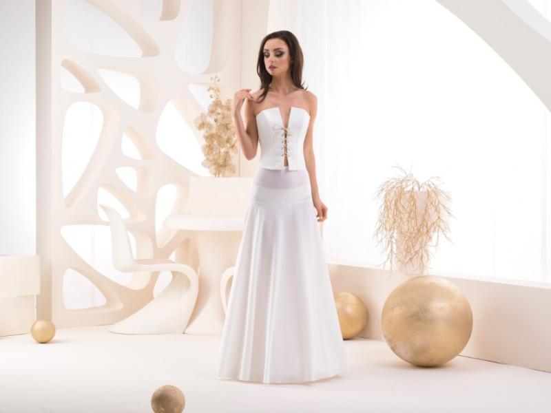 Doplňky pro nevěstu - Spodnice s elastickým pasem - obvod 190 cm