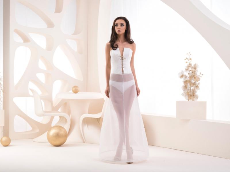 Doplňky pro nevěstu - Jednokruhová spodnice