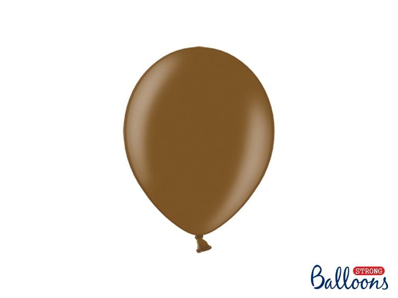 Svatební ozdoby a doplňky - Metalický balónek - čokoládová
