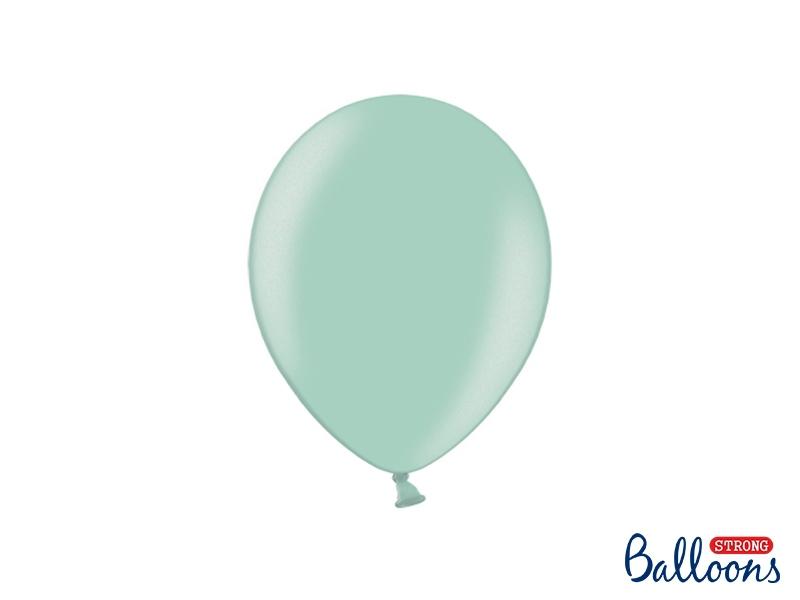 Svatební ozdoby a doplňky - Metalický balónek - mint