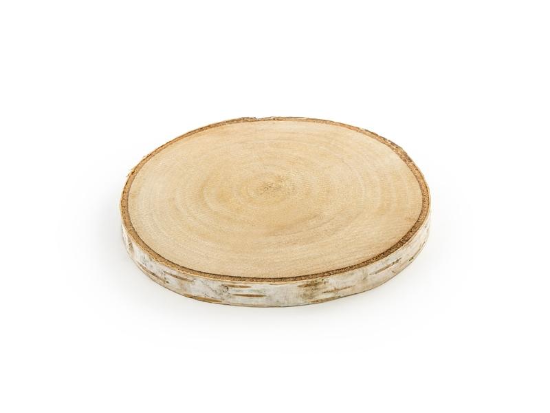 Dekorace na stůl - Dřevěné kolečko