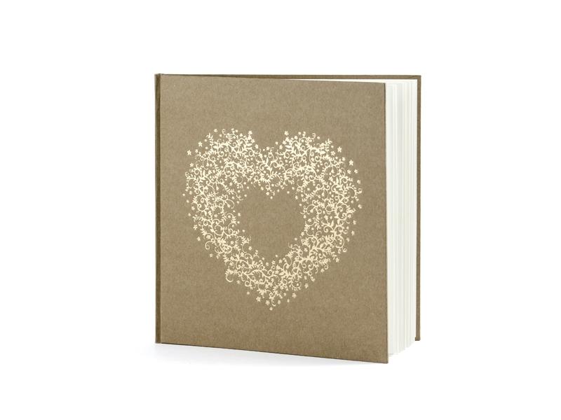 Svatební knihy a fotoalba - Svatební kniha - srdce