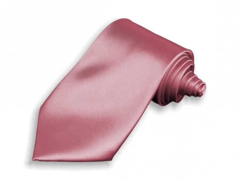 Doplňky pro ženicha - Kravata růžová