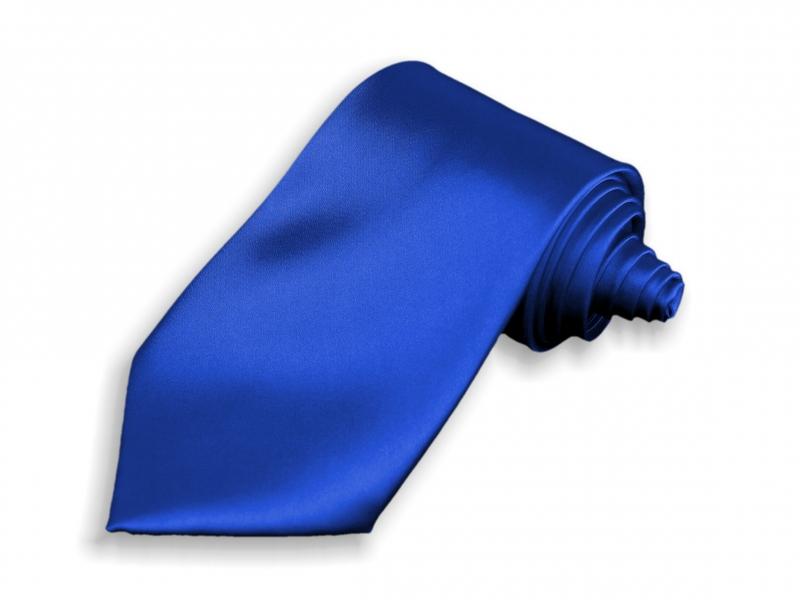 Doplňky pro ženicha - Kravata modrá