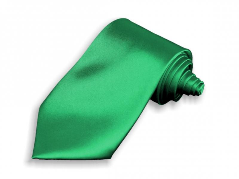 Doplňky pro ženicha - Kravata zelená