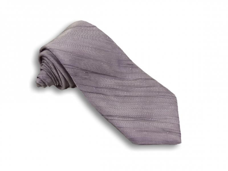 Doplňky pro ženicha - Fialová kravata Deluxe