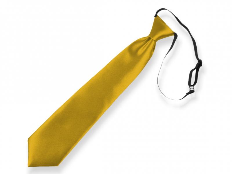 Doplňky pro děti a družičky - Dětská kravata zlatá