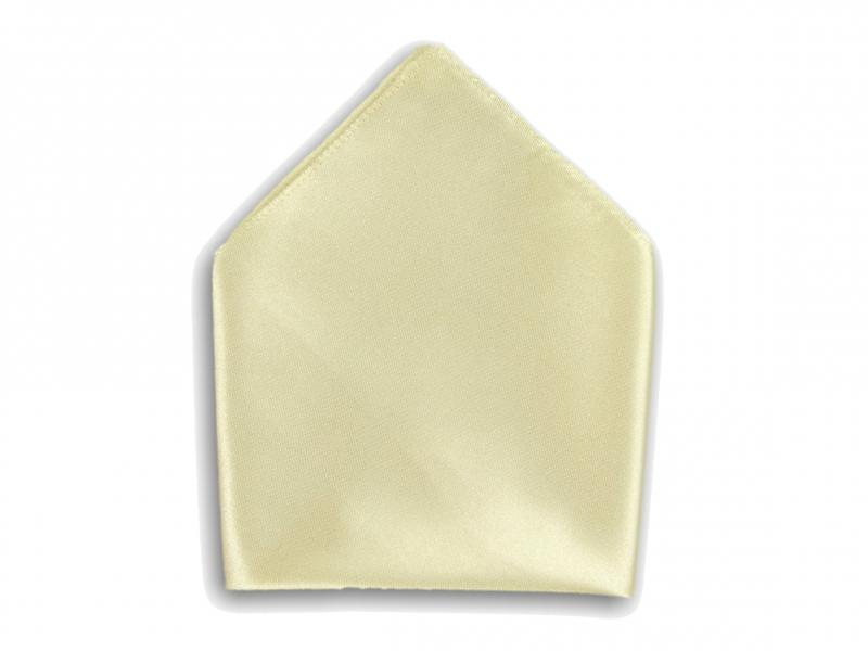 Doplňky pro ženicha - Kapesník do saka béžový