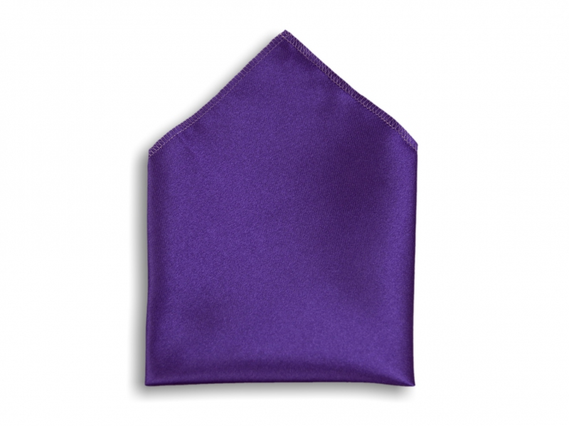 Doplňky pro ženicha - Kapesník do saka fialový