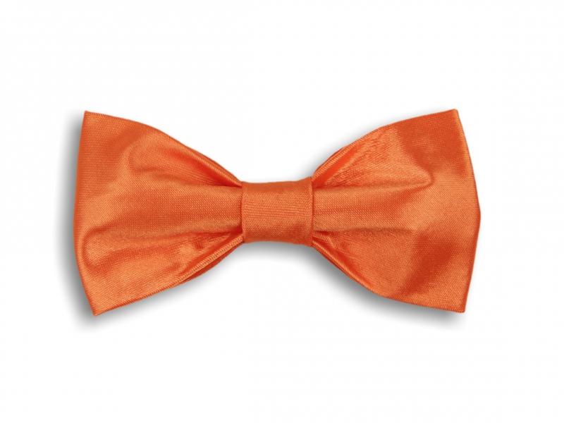 Doplňky pro ženicha - Oranžový motýlek