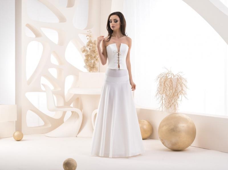 Doplňky pro nevěstu - Spodnice s elastickým pasem - obvod 220 cm