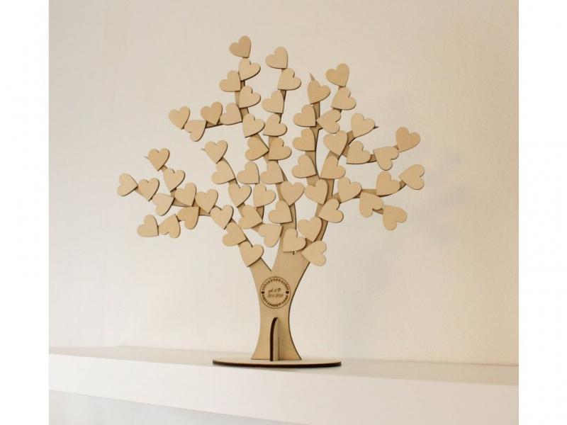 Svatební ozdoby a doplňky - Svatební strom 3D