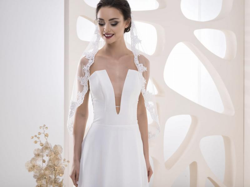 Doplňky pro nevěstu - Svatební závoj VK 28