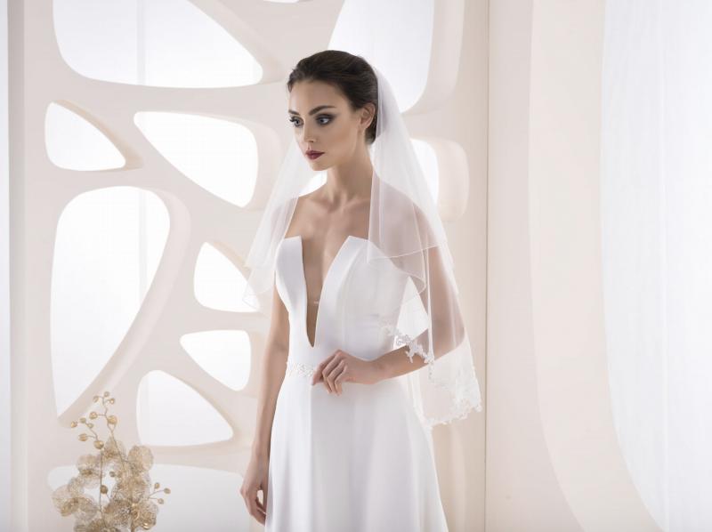 Doplňky pro nevěstu - Svatební závoj VK 40