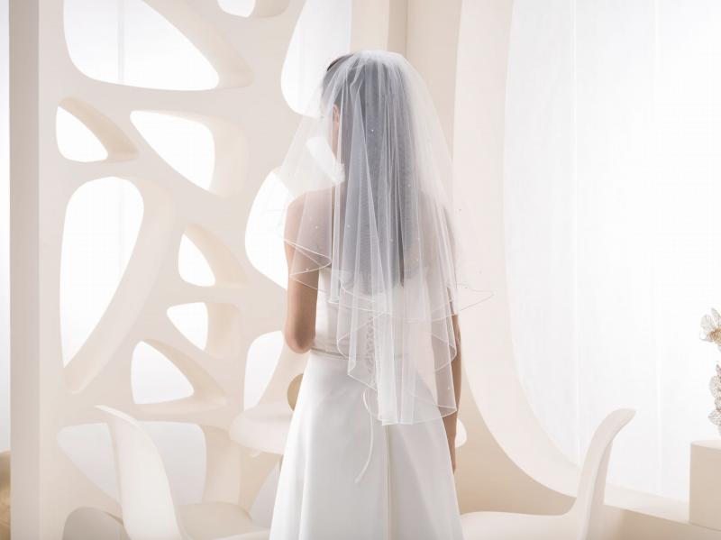 Doplňky pro nevěstu - Svatební závoj VZ 810