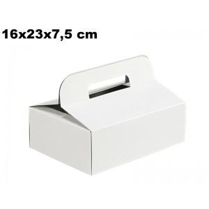 Krabička na výslužky 16x23x7,5 cm