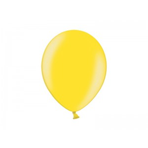 Metalický balónek - žlutý