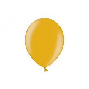 Metalický balónek - zlatý