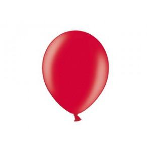 Metalický balónek - červený