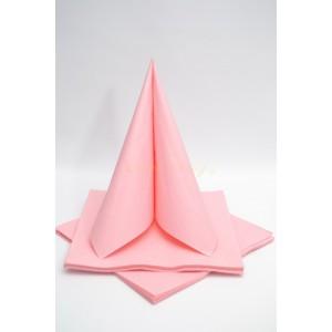 Třívrstvé ubrousky - růžová