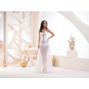 Jednokruhová spodnice s elastickým pasem - obvod 190 cm