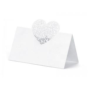 Svatební jmenovka srdce