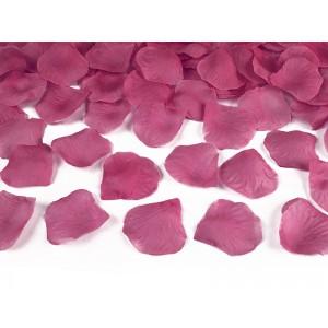 Plátky růží - růžová