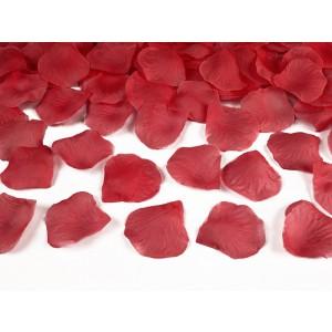 Plátky růží - červená