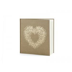 Svatební kniha - srdce