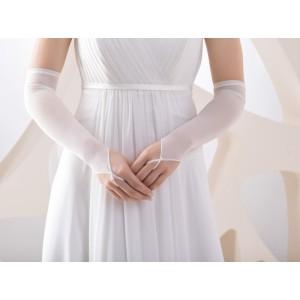 Jednoduché svatební rukavičky