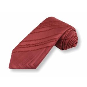 Tkaná kravata - červená