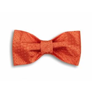 Oranžový tkaný motýlek