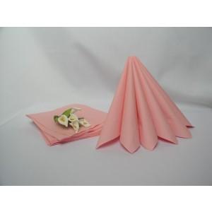 Dvouvrstvé ubrousky - růžová