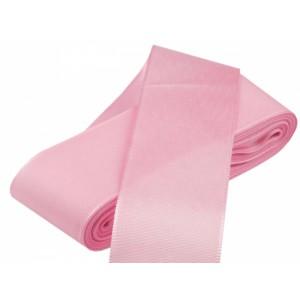 Taftová stuha růžová - 40mm