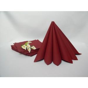 Dvouvrstvé ubrousky - bordó