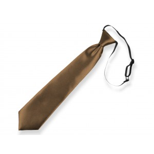 Dětská kravata hnědá