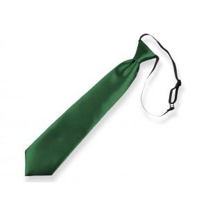Dětská kravata tmavě zelená