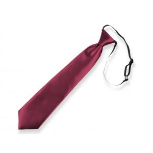 Dětská kravata vínová