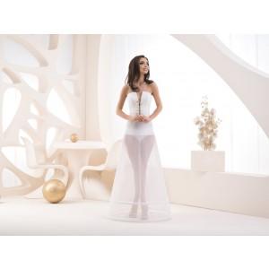 Dvoukruhová spodnice s elastickým pasem - obvod 220 cm