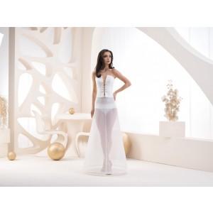 Jednokruhová spodnice s elastickým pasem - obvod 220 cm