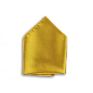 Kapesník do saka zlatý