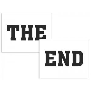 Nálepky The End
