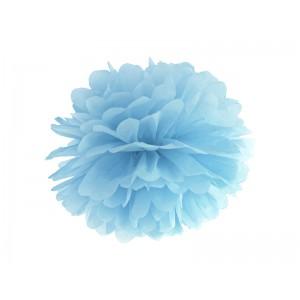 Pompom - světle modrá