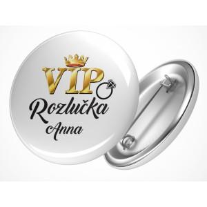 Rozlučková placka VIP