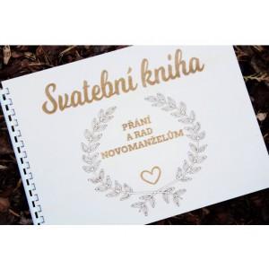 Svatební kniha přání a rad novomanželům