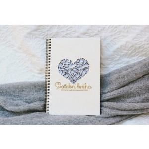 Svatební kniha přání a rad srdce